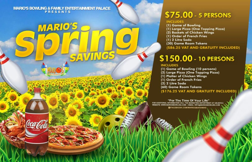 Mario's Bowling and Entertainment Palace –